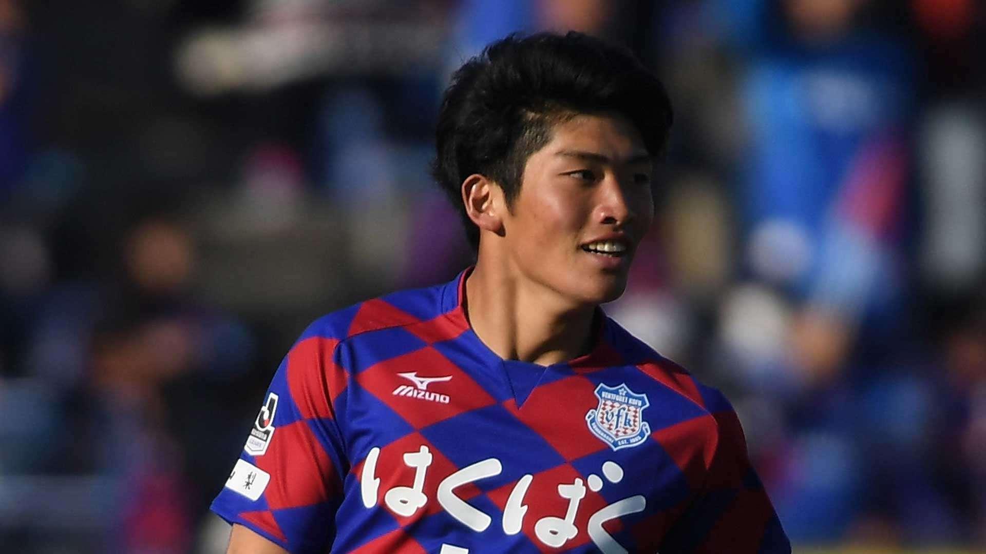 J1甲府・道渕諒平が女性への暴行容疑で逮捕 クラブが発表 23日に都内で