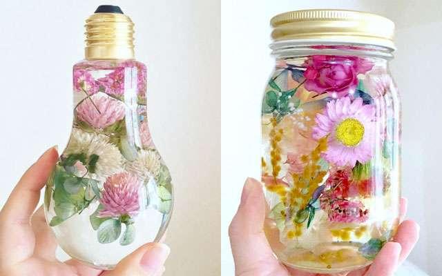 ゆれる花々に、思わずうっとり 癒し効果抜群のハーバリウムが美しすぎる  –  grape [グレイプ]