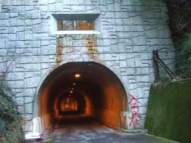 トンネルが怖い人居ますか?
