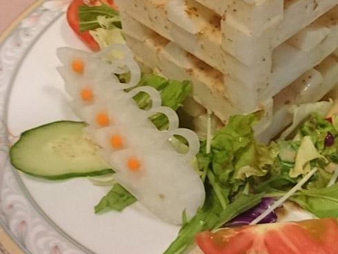 「大根サラダです」 とあるお店の大根サラダがどう見ても別の何か