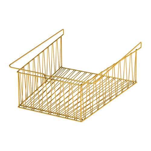 KALLAX ワイヤーバスケット, 黄銅色 - 40x33 cm - IKEA