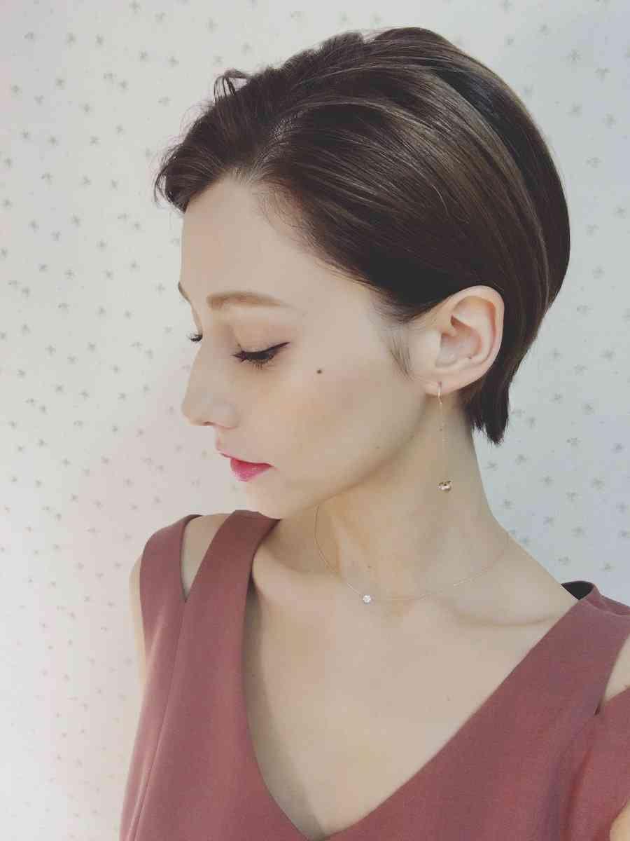 ダレノガレ明美、30cmカットでショートヘアに大胆イメチェン!「美人が際立つ」と絶賛の声