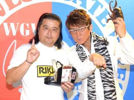 哀川翔、プロレスデビューへ 10・31長州小力のベルトにいきなり挑戦