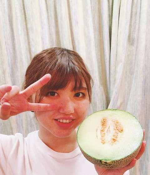 メロンとメロン♡|矢島舞美オフィシャルブログ Powered by Ameba