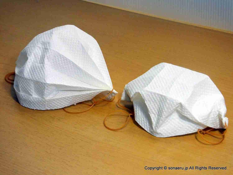 いざというときに役立ちそう 警視庁「砂ぼこり対策に使える簡易マスクをキッチンペーパーで作る方法」が話題に