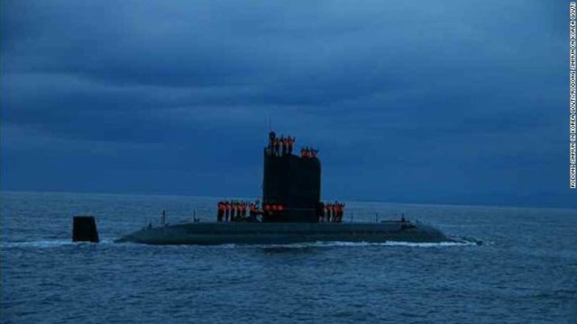CNN.co.jp : 米軍、北朝鮮潜水艦による「特異な」活動探知 射出実験も