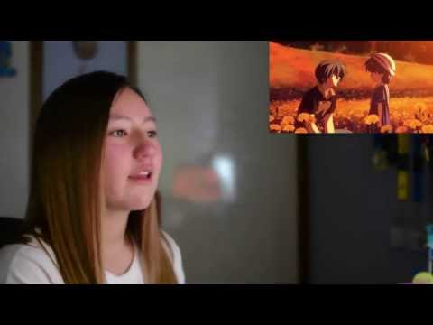 CLANNAD AFTER STORYを見て号泣する外国人女性www【クラナド】 - YouTube