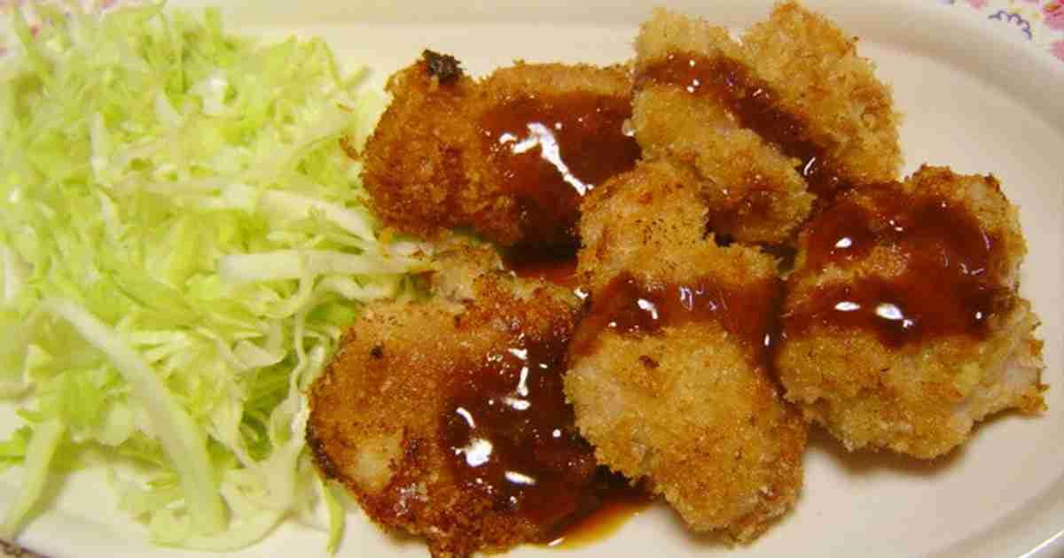 豚こまで節約☆簡単やわらか☆一口とんかつ by まどりんこ [クックパッド] 簡単おいしいみんなのレシピが272万品