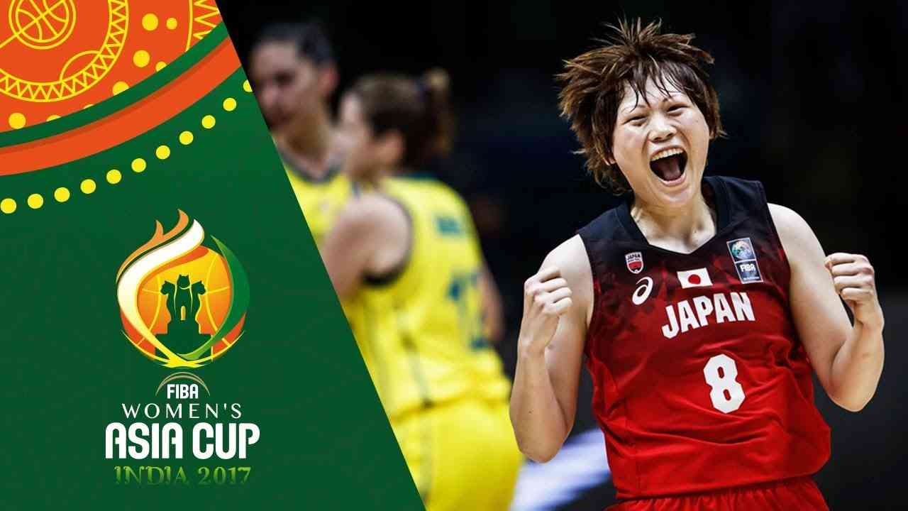 Australia v Japan - Full Game - Final - FIBA Women's Asia Cup 2017 - YouTube