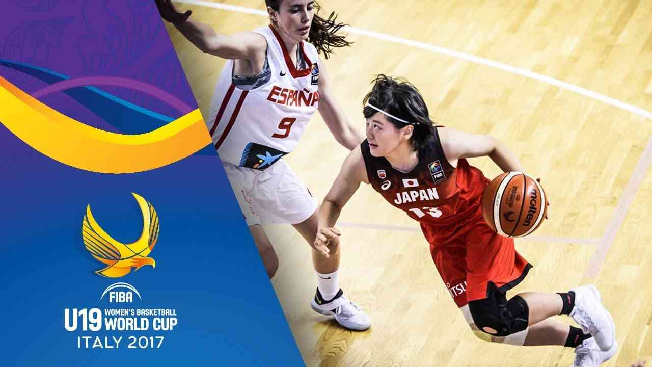 Spain v Japan - Full Game - Quarter-Final - FIBA U19 Women's Basketball World Cup 2017 - YouTube