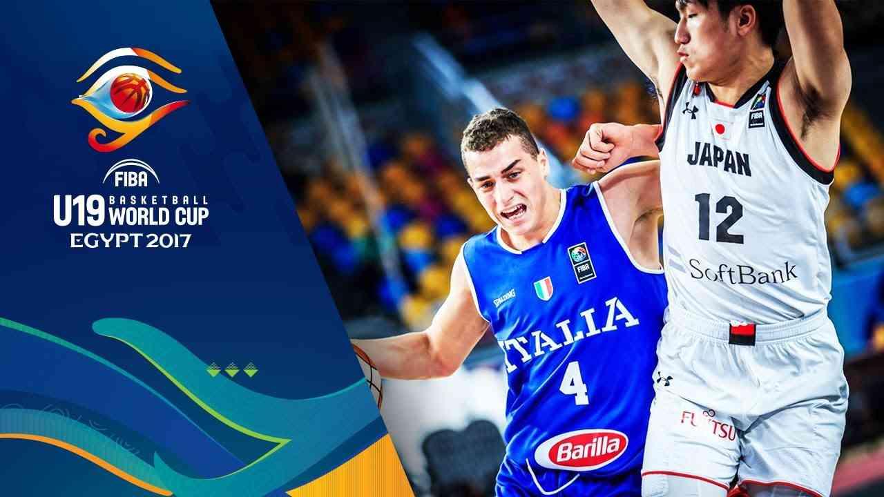 Japan v Italy - Full Game - Round of 16 - FIBA U19 Basketball World Cup 2017 - YouTube