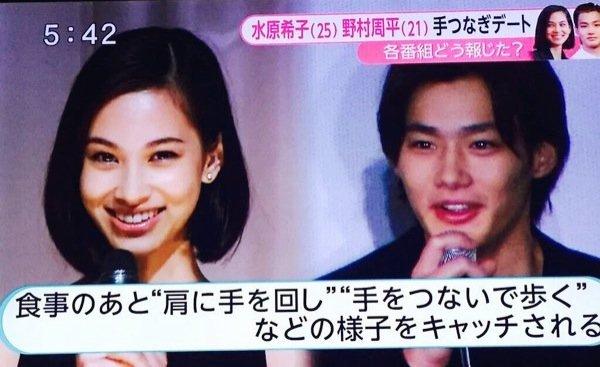 「超お似合い」「これは可愛すぎ」妻夫木聡&水原希子の2ショットがステキな雰囲気…。