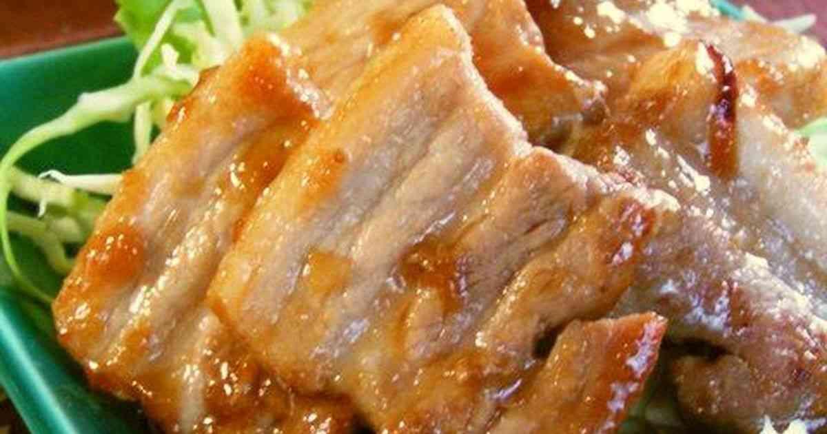 豚バラの味噌照り焼き by パティシエママ [クックパッド] 簡単おいしいみんなのレシピが273万品
