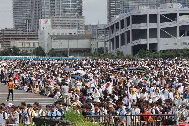 コミケ92:最終日は19万人も3日間で50万人 昨夏下回る - MANTANWEB(まんたんウェブ)