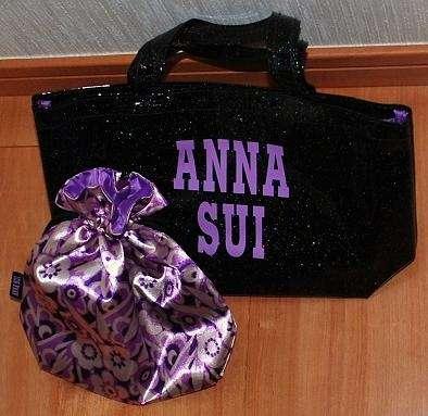 1243 (・´`(◆)  「 Sweet 」  9月号 に アナスイ  キラキラトート&巾着ポーチ - 真子はスヌが好き   从*´・_・`从  (・´`(◆)