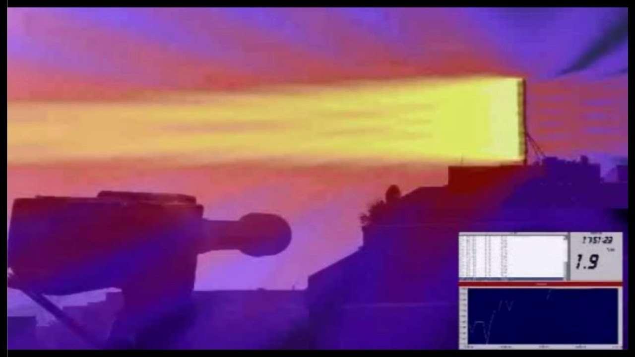 携帯基地局の電磁波ビームが見える! 可視化に成功!フランス - YouTube