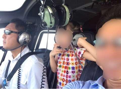 神田うの、娘の合宿はヘリコプター移動「パパありがとう」