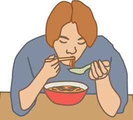 食事中のマナー違反、これが1番嫌