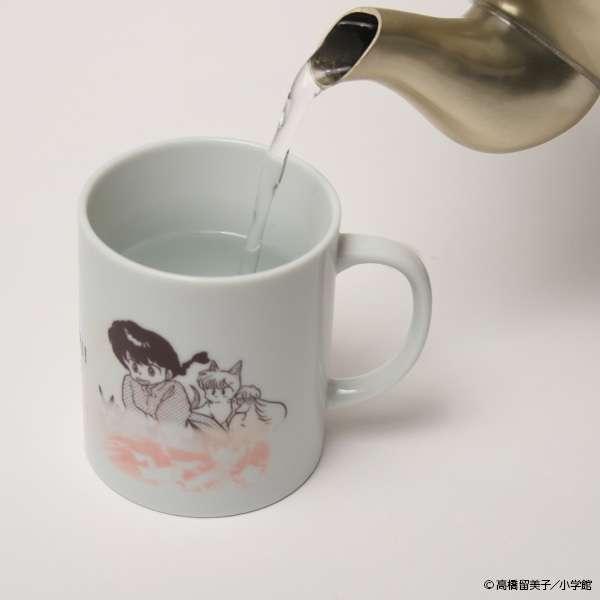 これは欲しい!「らんま1/2のマグカップ」にお湯をかけると…!