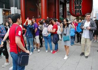 7月訪日客、過去最高の268万人…中国が最多
