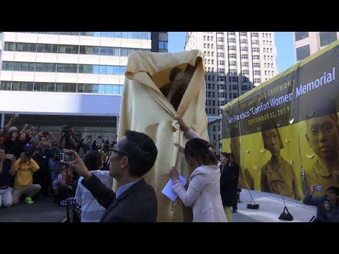 米都市サンフランシスコにて、従軍慰安婦像の設置記念式典が執り行われる…[海外の反応] : 海外報道翻訳所