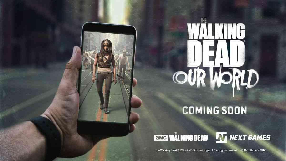 あのウォーキング・デッドがポケモンGO風のARゲーム「The Walking Dead: Our World」になって登場、ゾンビだらけの世界でサバイバル可能に - GIGAZINE