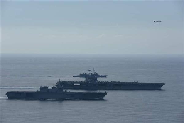 米原子力空母ロナルド・レーガンが横須賀出港へ 朝鮮半島近くに展開か - 産経ニュース