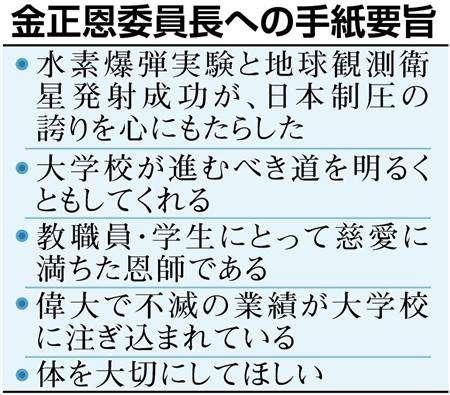 朝鮮大学校が「日米壊滅」目指す手紙 金正恩氏に送り、在校生に決起指示  (1/2ページ) - SankeiBiz(サンケイビズ)