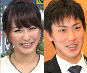 枡田絵理奈アナ、堂林翔太選手とXmas婚 29歳誕生日のきょう入籍