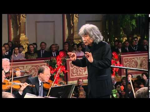 シュトラウスⅡ世 歌劇「こうもり」序曲 小澤征爾 ウィーン・フィル - YouTube