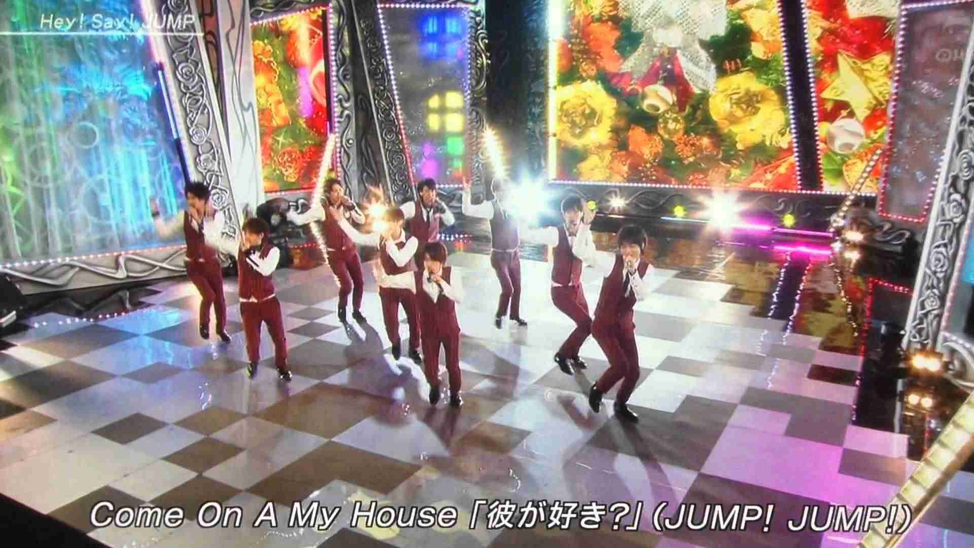 Hey!Say!JUMP Come On A My House FNS歌謡祭 - YouTube