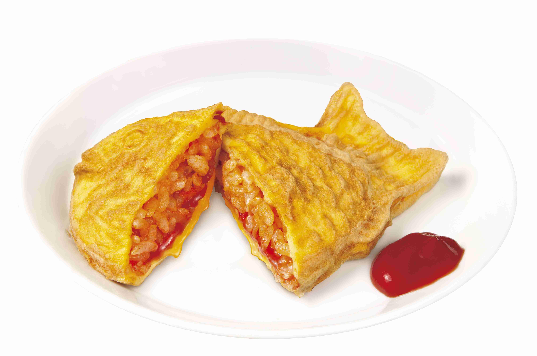 「オムライス鯛焼き」が爆誕! 見た目は完全に鯛焼きだけど、味も素材も完全にオムライスです | Pouch[ポーチ]