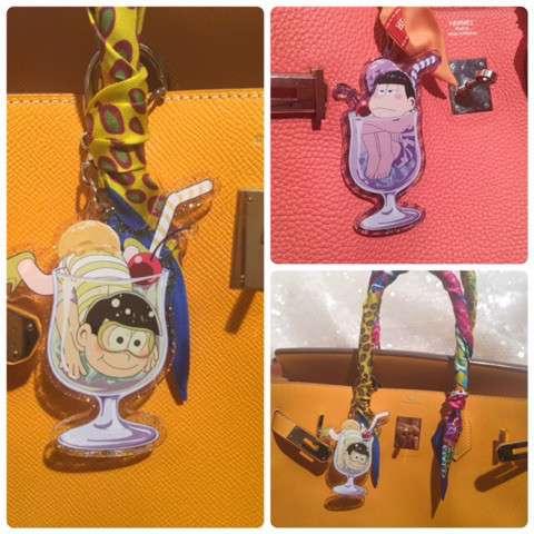 叶美香『おそ松さん』フィギュアをバッグにしのばせ「私のキュートルッキングガイ」
