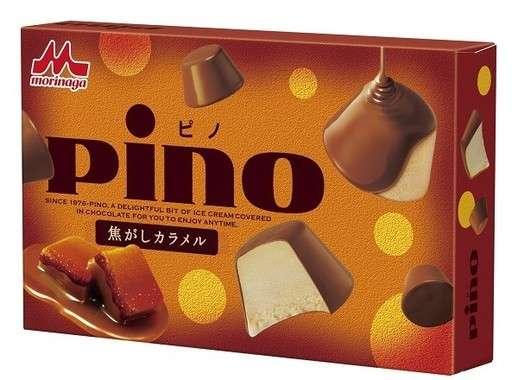 「ピノ」から「焦がしカラメル味」限定発売!カラメルの甘みと苦みが止まらない