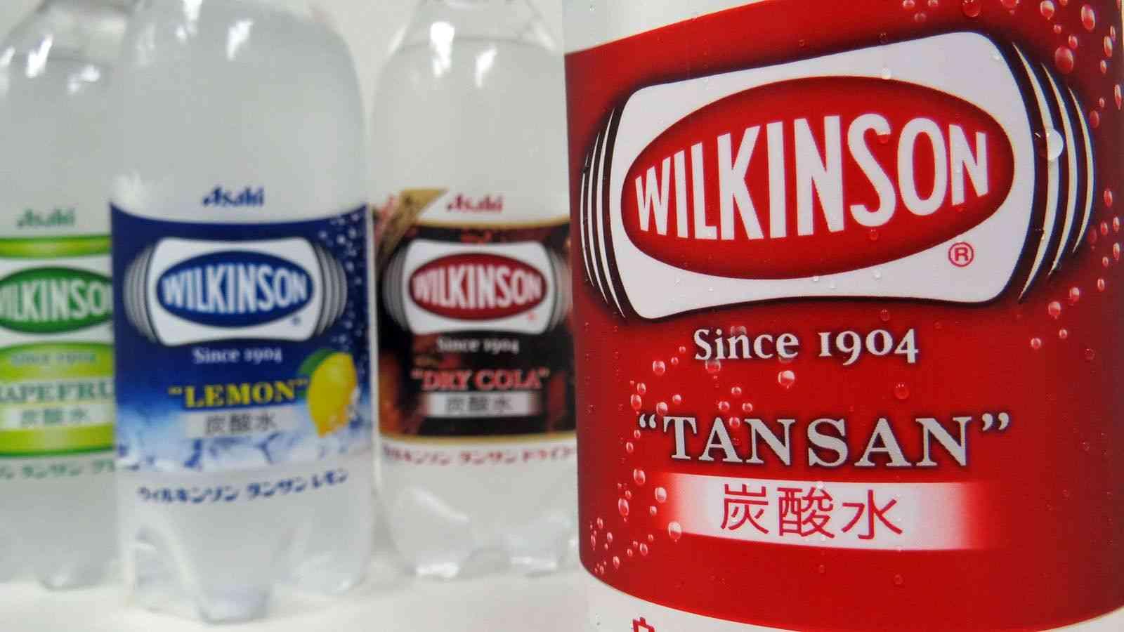 アサヒ秘蔵っ子 日本発祥の炭酸水「ウィルキンソン」がバカ売れ