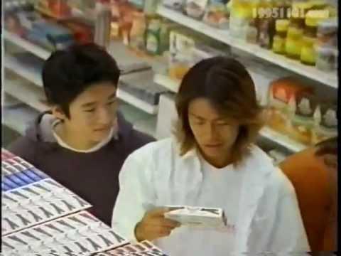 CM 小枝 「小技」篇 V6 森田剛 風間俊介 - YouTube