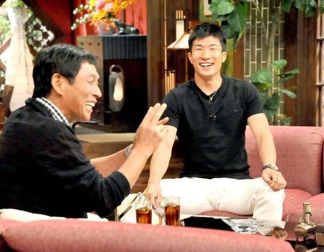 桐生祥秀選手 憧れのさんまと初対面 「一番会いたかった人」と明かす