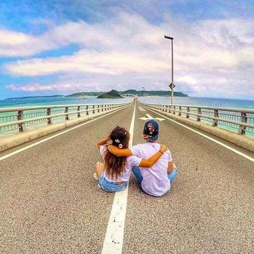 インスタ映え意識しすぎ…「角島大橋」での撮影が問題に - NAVER まとめ