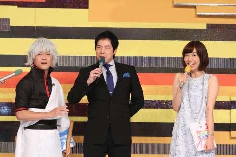 おばたのお兄さん、山崎夕貴アナを前にネタ飛ぶ 浮気報道以来の共演