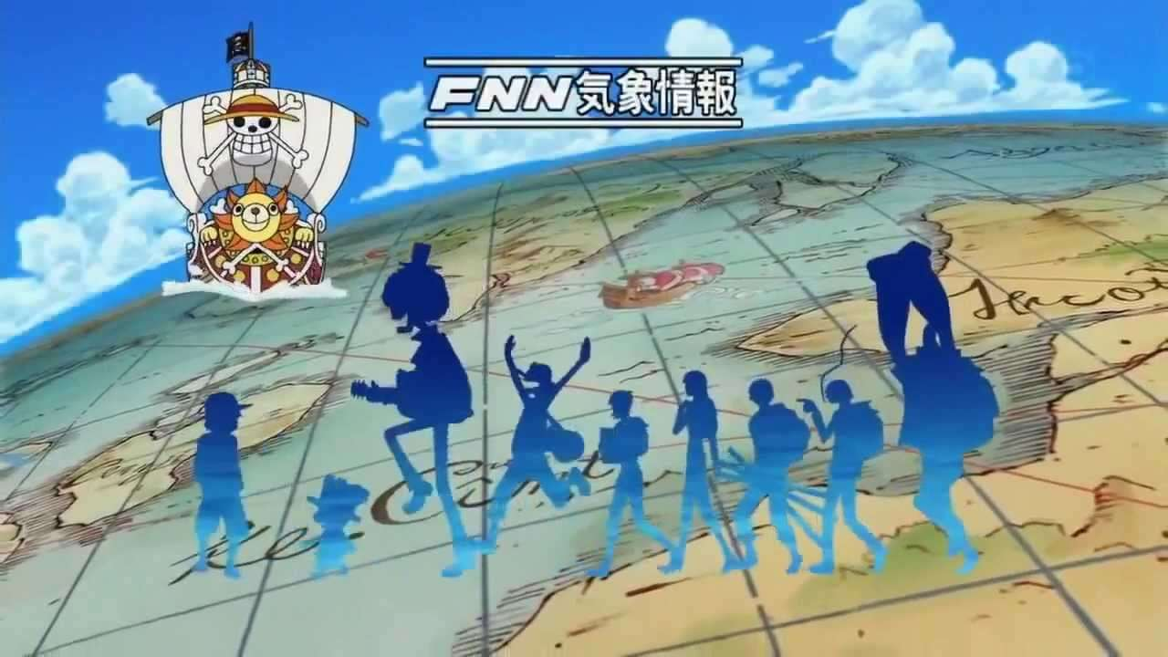 One Piece Opening 14 - 「 Fight Together 」 (HD 720p) - YouTube