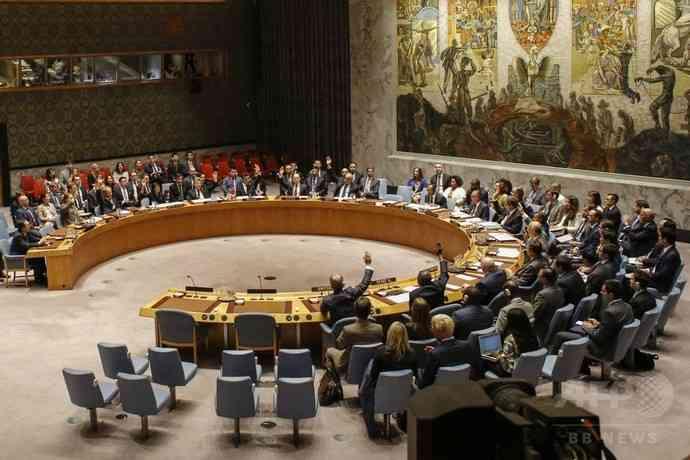 北朝鮮への制裁決議を安保理が全会一致で採択 原油などの輸出量に上限
