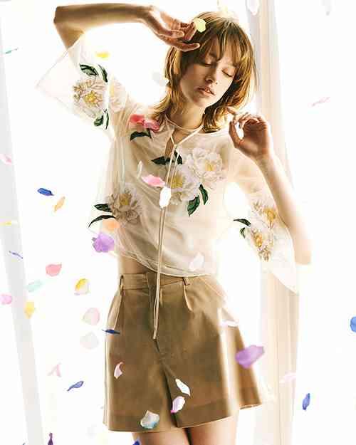 【画像】花柄の服❁︎