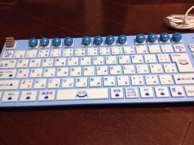 レジンで作った実際に使える「キーボード」が可愛い!