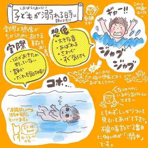 子どもは静かに溺れるので常に目を配るべき―― 長野県佐久市の医師会が注意喚起