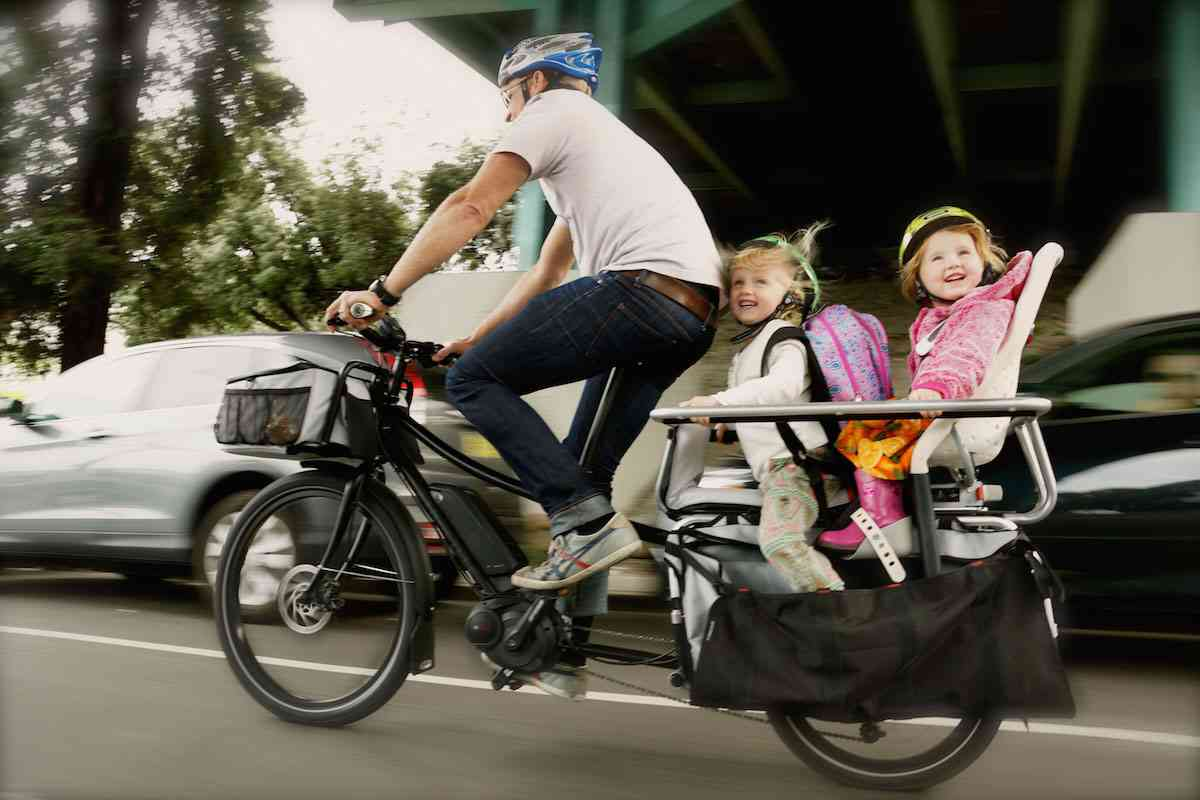 子乗せ自転車ってどうですか?