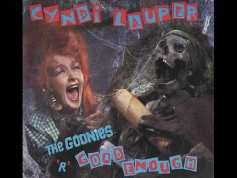 Cyndi Lauper - The Goonies 'R' Good Enough - YouTube