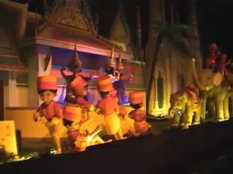 宝塚ファミリーランド大人形館「ファンタジーワールド」 完全収録 - YouTube