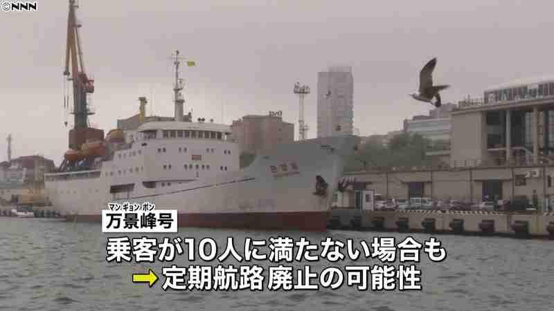 「万景峰」号 北朝鮮-ロシアの定期便停止|日テレNEWS24