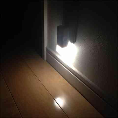 無印良品のLEDセンサーライトが大活躍!我が家はここに設置