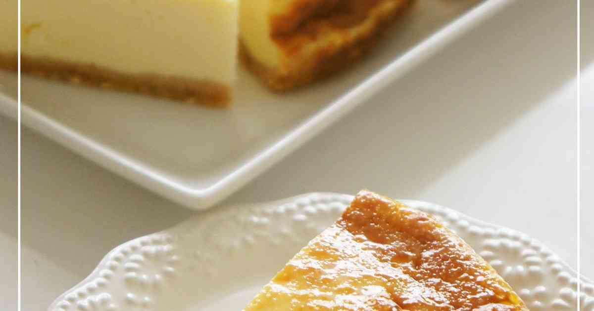 水切りヨーグルト濃厚ベイクドチーズケーキ by nyonta [クックパッド] 簡単おいしいみんなのレシピが274万品